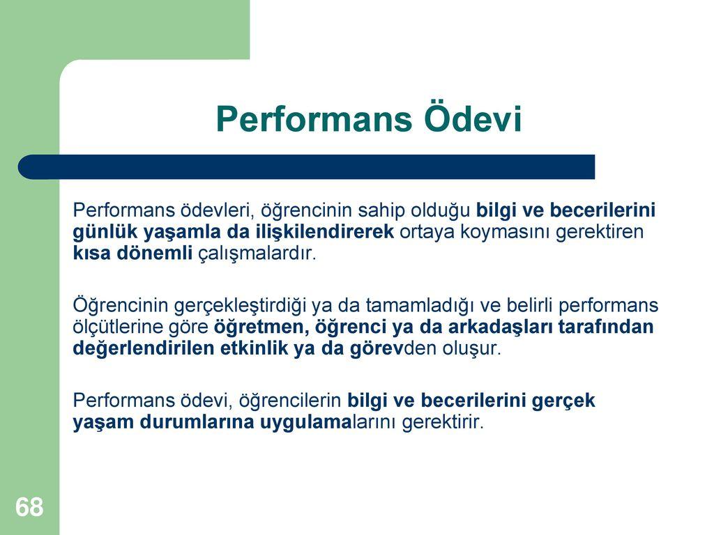 Performans Ödevi