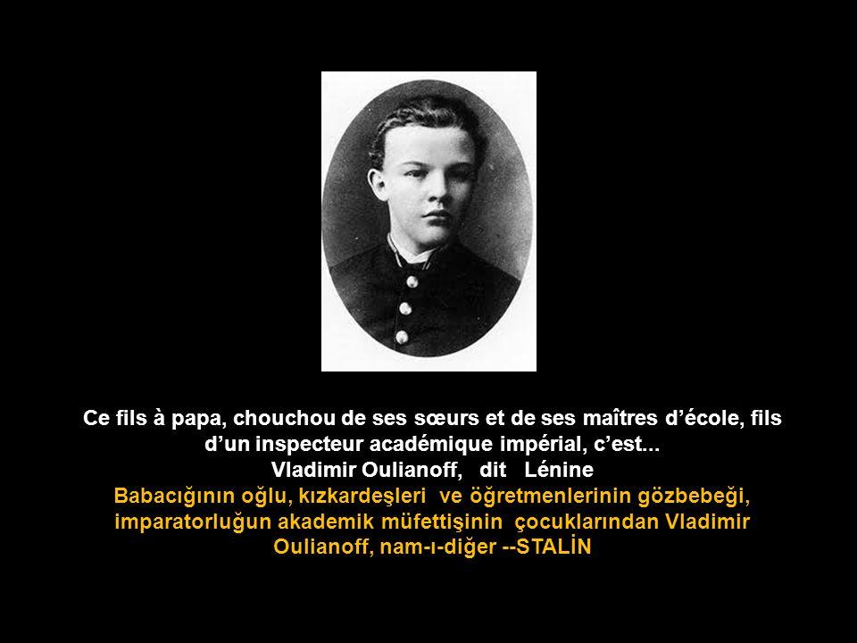 Vladimir Oulianoff, dit Lénine