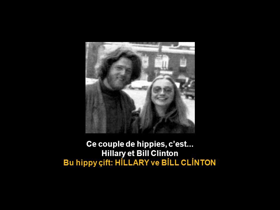 Ce couple de hippies, c'est... Hillary et Bill Clinton