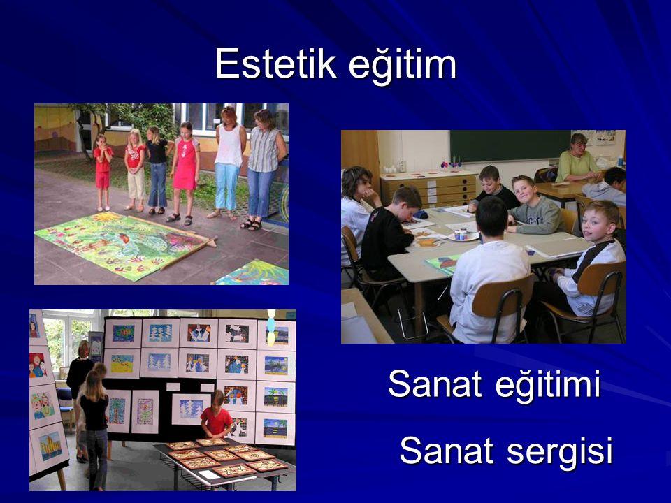 Estetik eğitim Sanat eğitimi Sanat sergisi