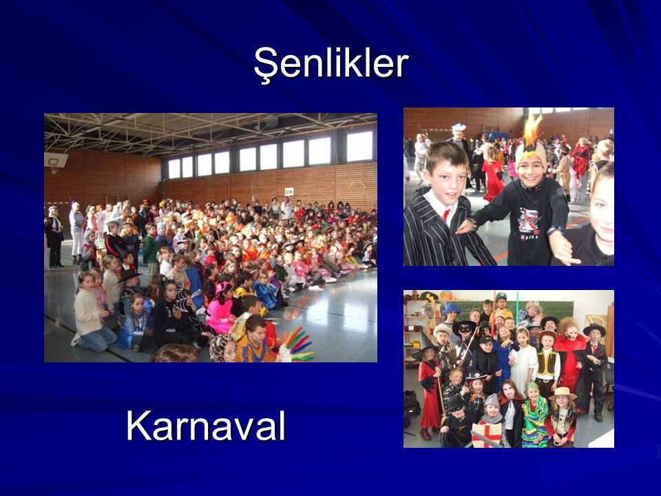 Şenlikler Karnaval