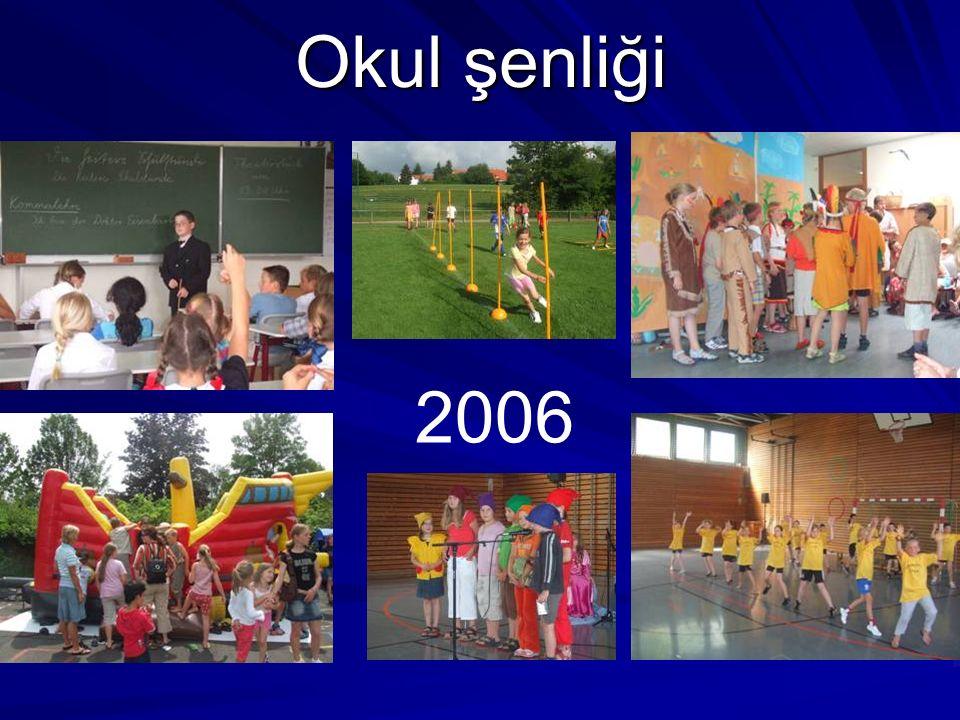 Okul şenliği 2006