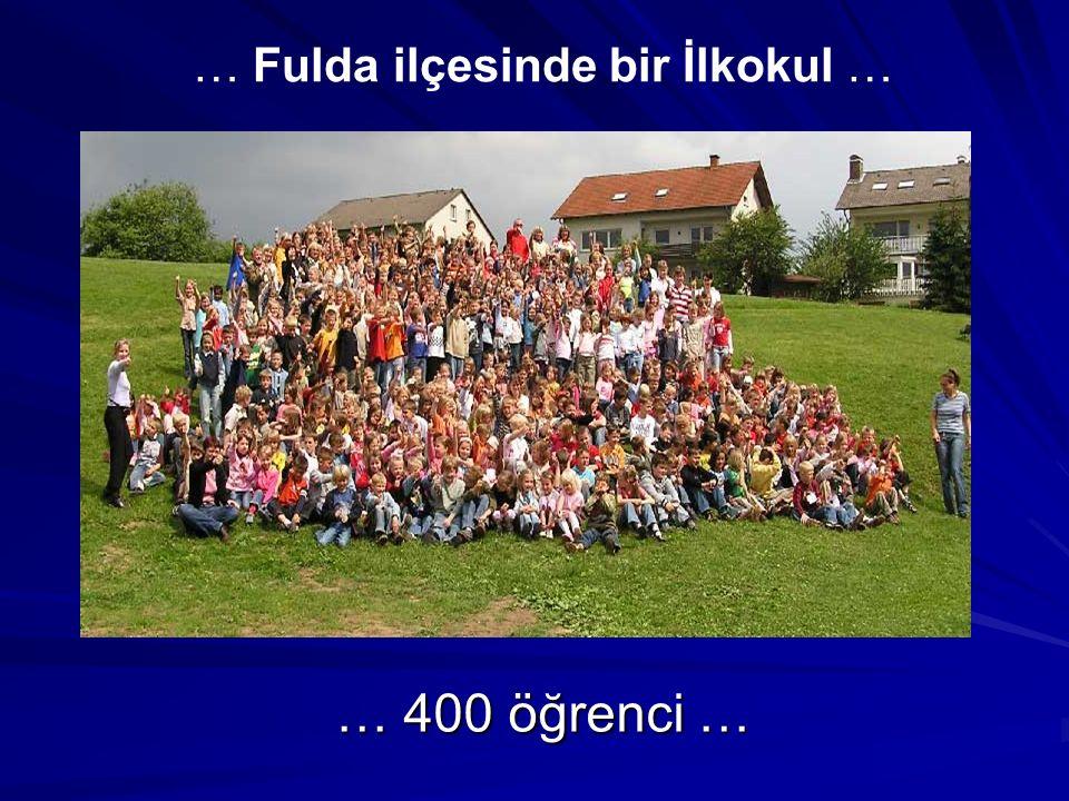 … Fulda ilçesinde bir İlkokul …