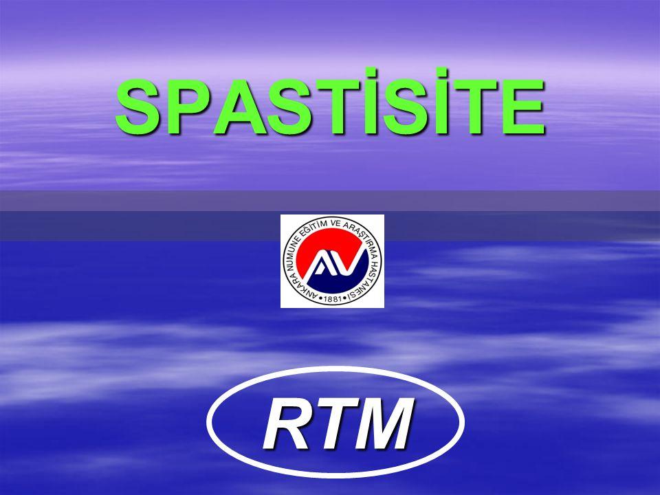 SPASTİSİTE RTM