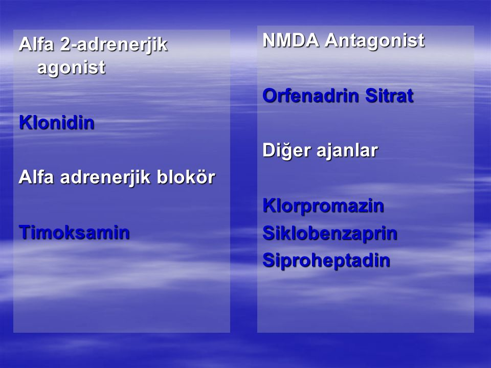 Alfa 2-adrenerjik agonist
