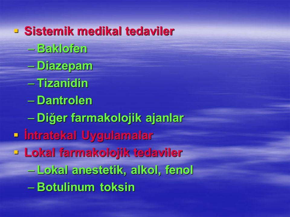 Sistemik medikal tedaviler