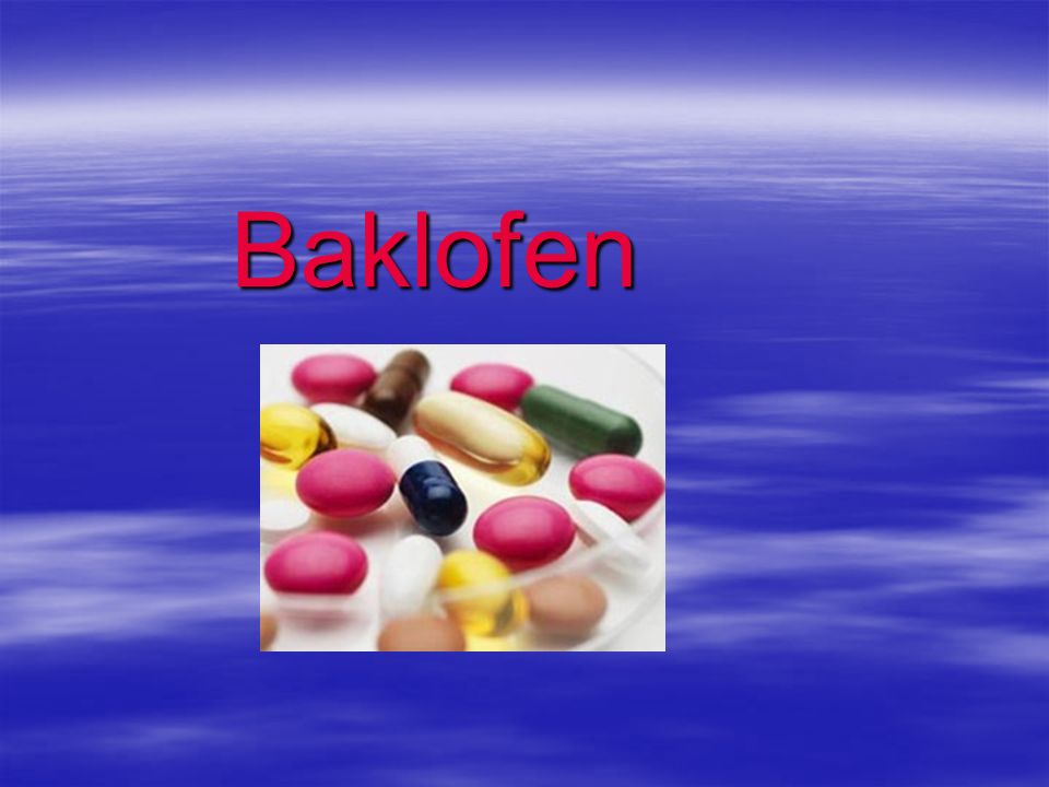 Baklofen