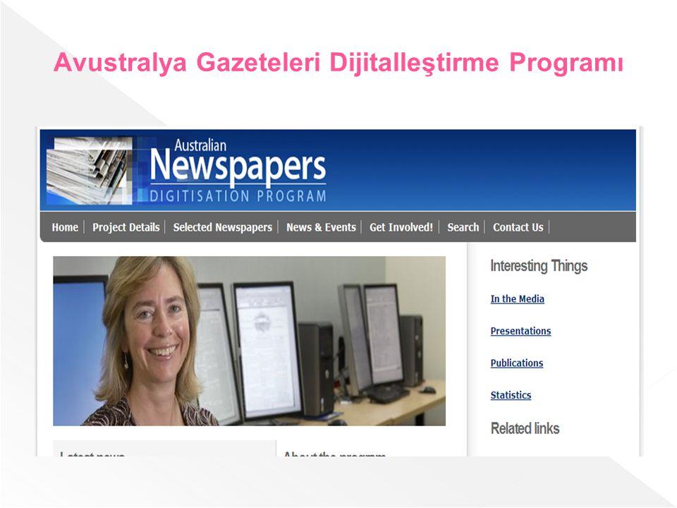 Avustralya Gazeteleri Dijitalleştirme Programı