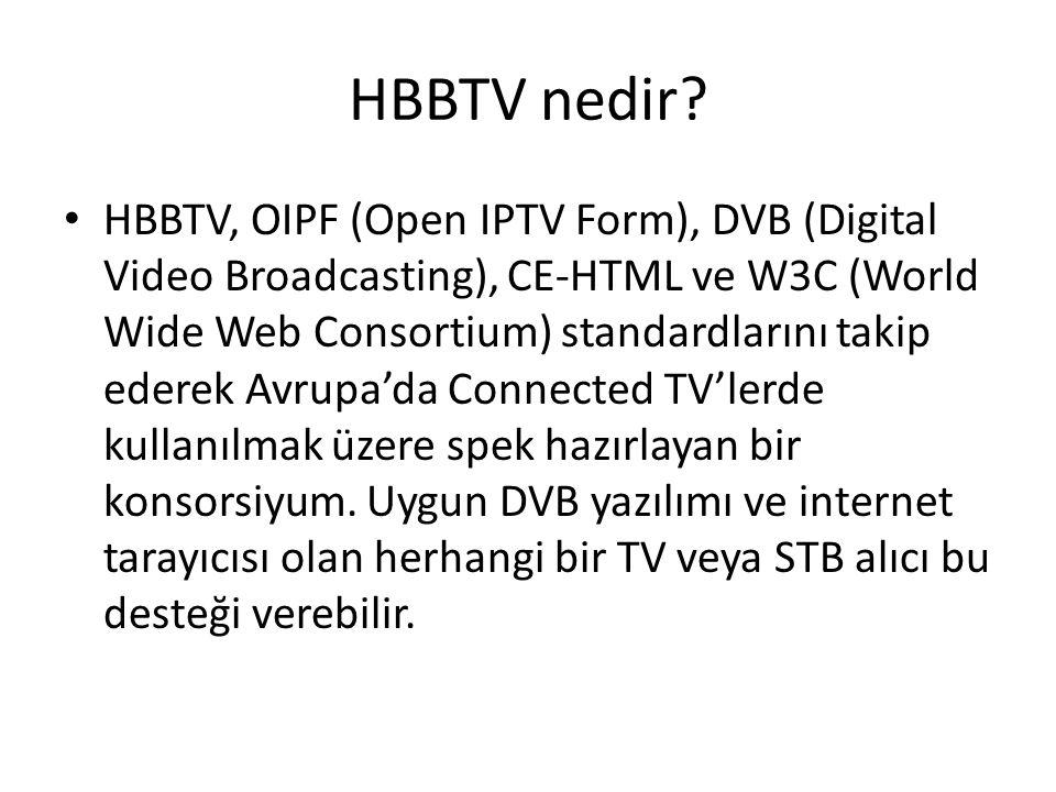 HBBTV nedir