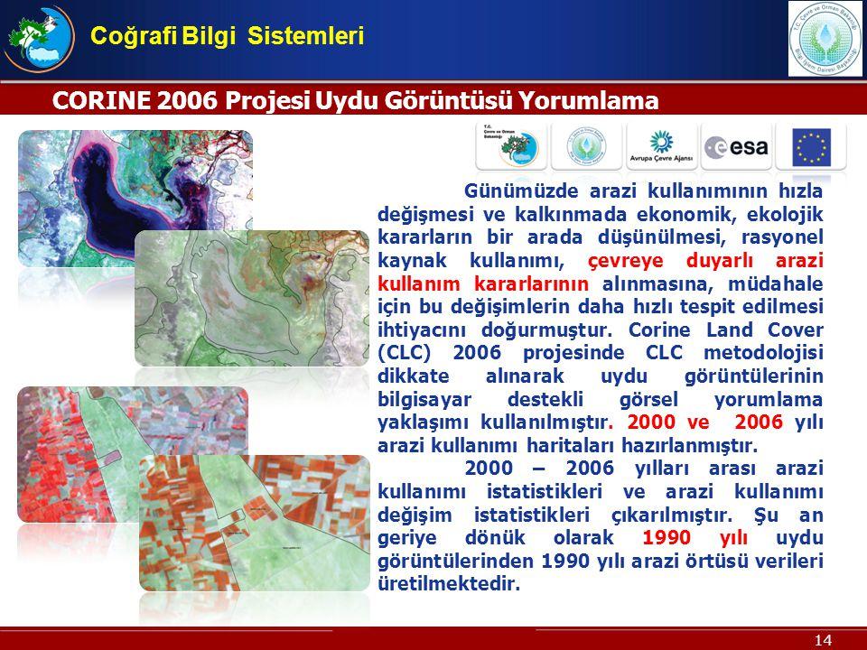 Coğrafi Bilgi Sistemleri
