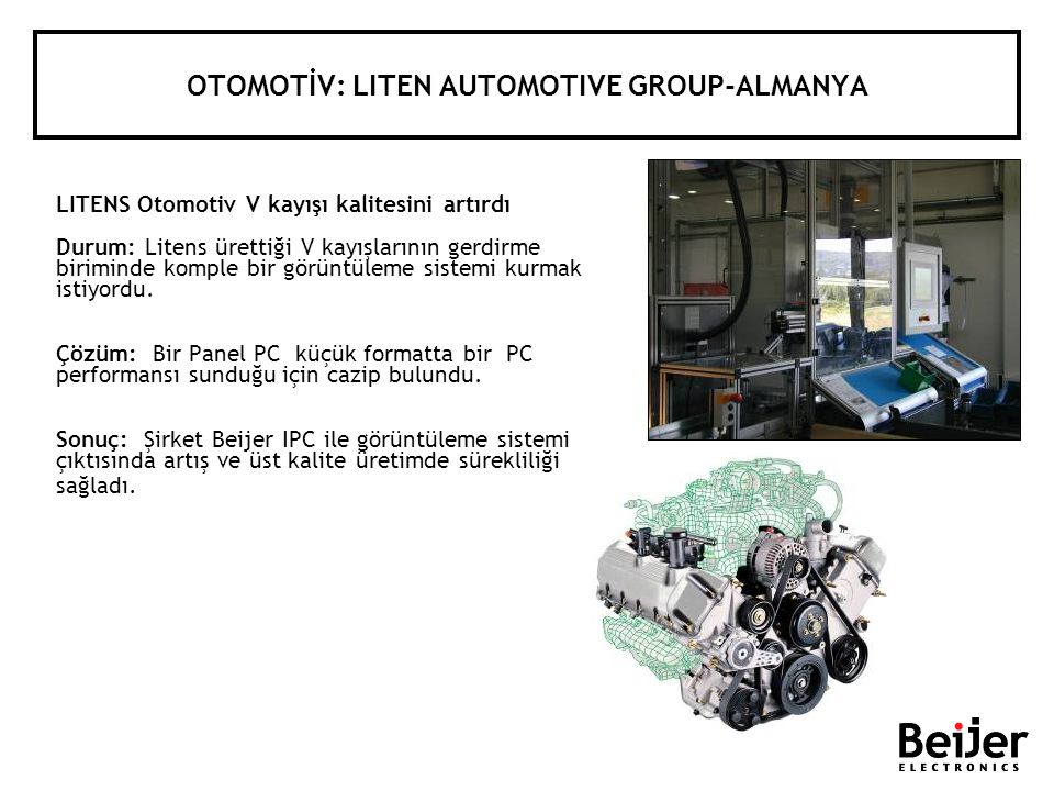OTOMOTİV: LITEN AUTOMOTIVE GROUP-ALMANYA
