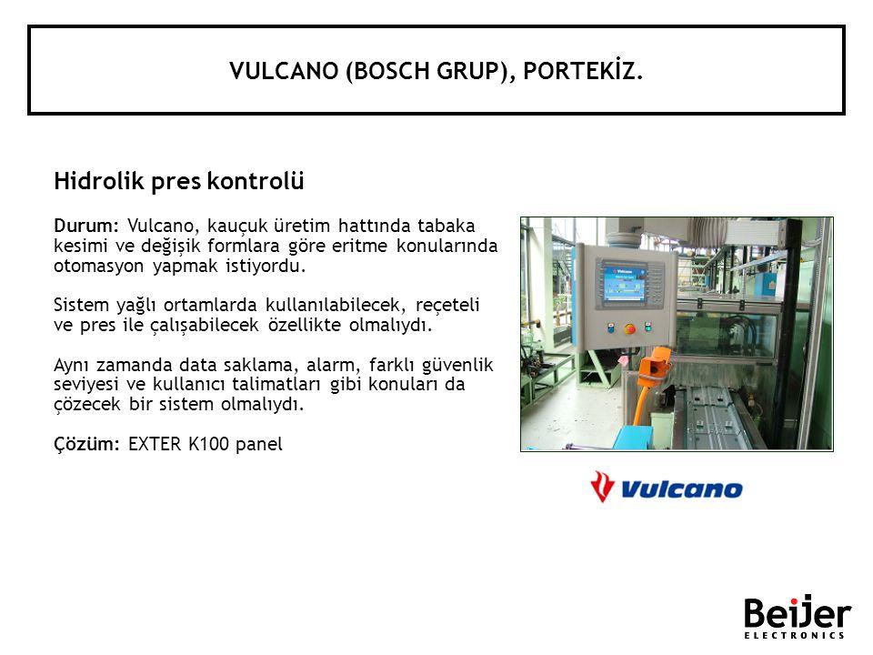 VULCANO (BOSCH GRUP), PORTEKİZ.