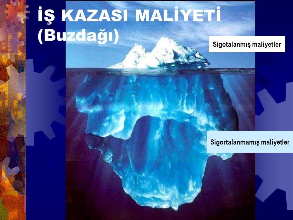 İŞ KAZASI MALİYETİ (Buzdağı)
