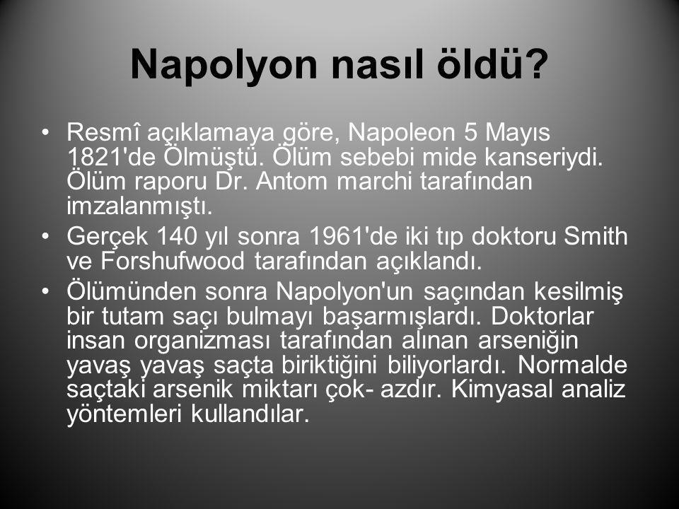 Napolyon nasıl öldü