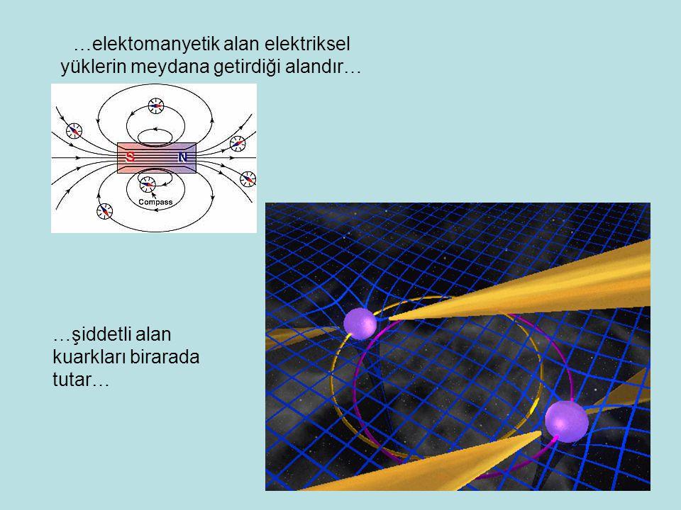 …elektomanyetik alan elektriksel yüklerin meydana getirdiği alandır…