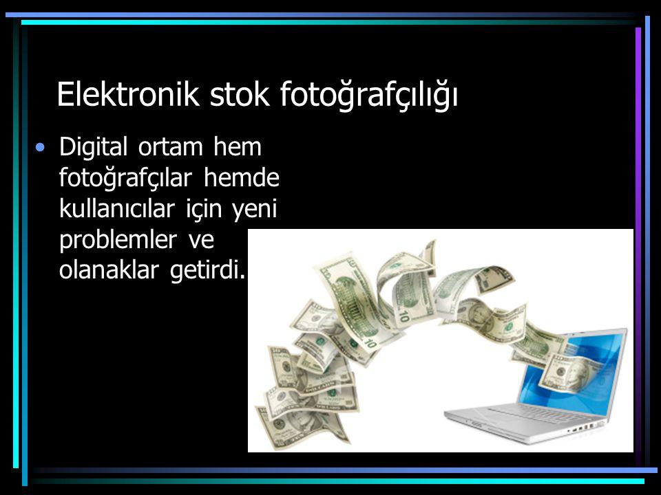 Elektronik stok fotoğrafçılığı