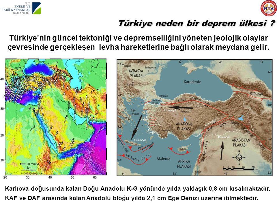 Türkiye neden bir deprem ülkesi