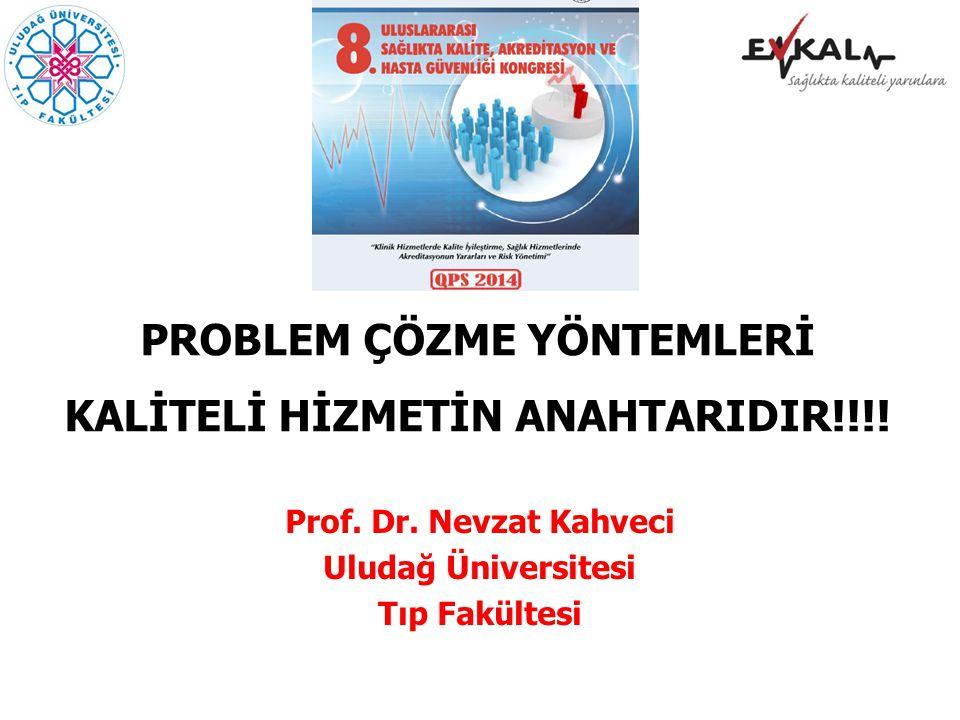 PROBLEM ÇÖZME YÖNTEMLERİ KALİTELİ HİZMETİN ANAHTARIDIR!!!!