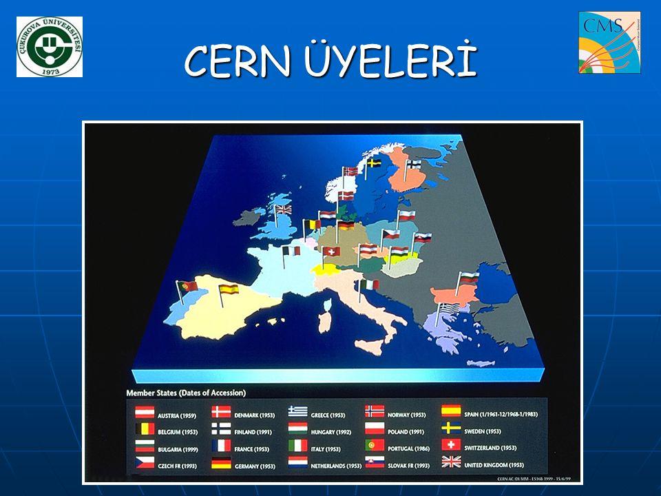 CERN ÜYELERİ
