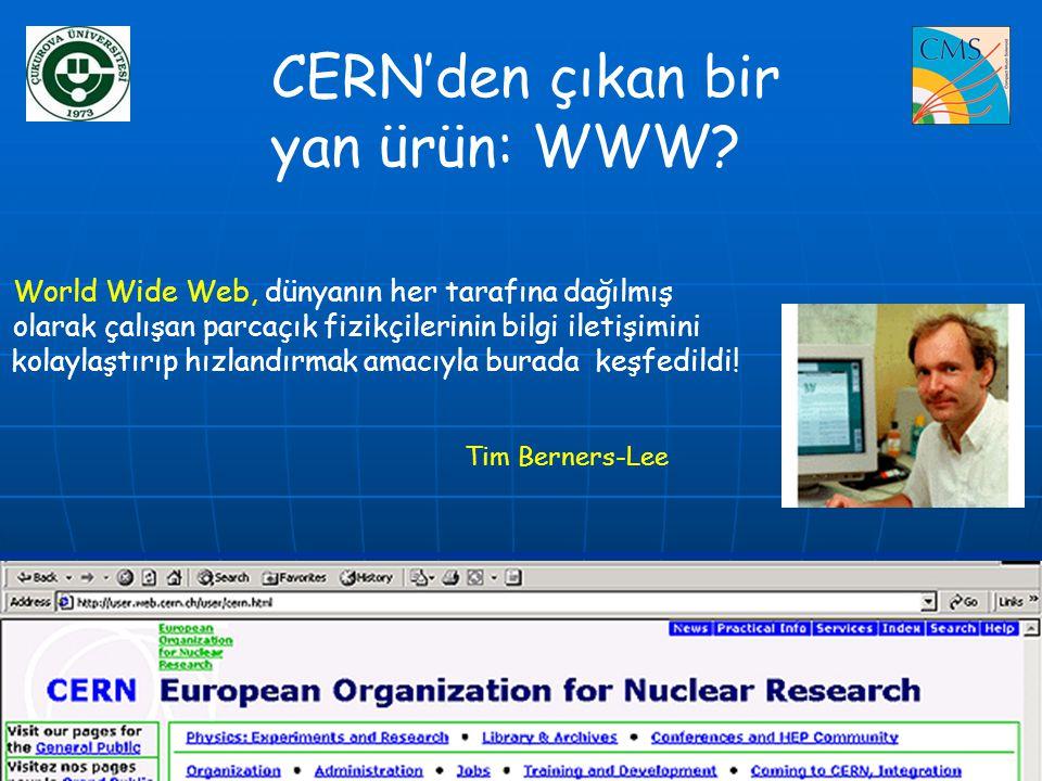 CERN'den çıkan bir yan ürün: WWW