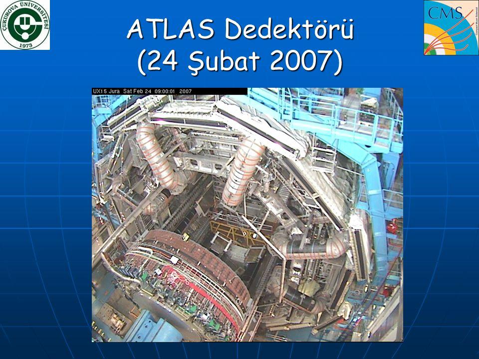 ATLAS Dedektörü (24 Şubat 2007)