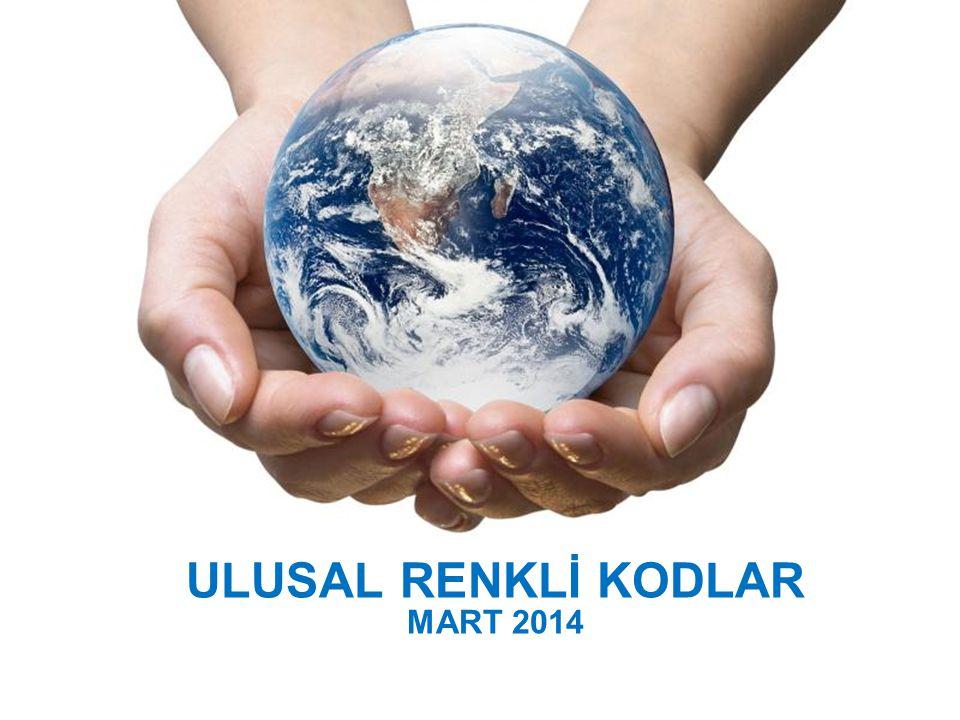 ULUSAL RENKLİ KODLAR MART 2014 Powerpoint Templates
