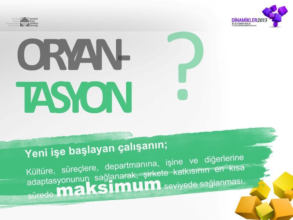 ORYAN- TASYON