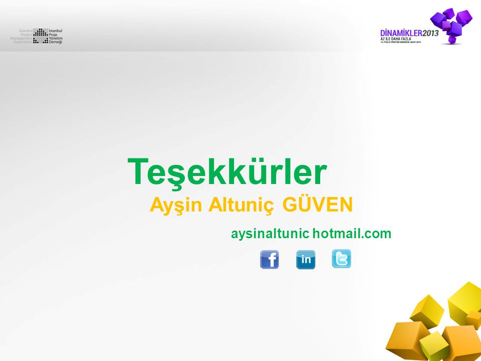 Teşekkürler Ayşin Altuniç GÜVEN aysinaltunic hotmail.com