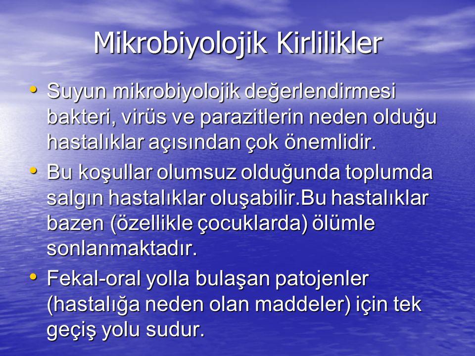 Mikrobiyolojik Kirlilikler