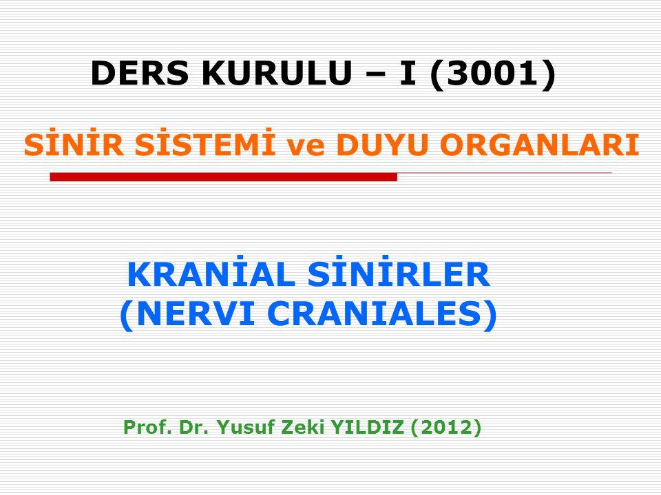 Prof. Dr. Yusuf Zeki YILDIZ (2012)