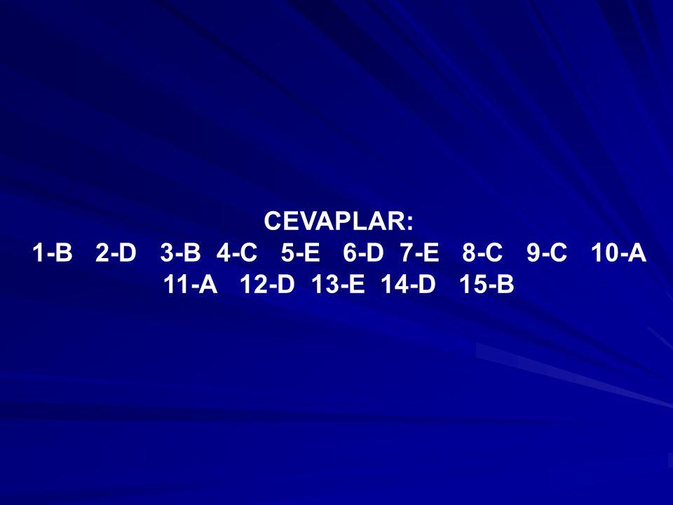 1-B 2-D 3-B 4-C 5-E 6-D 7-E 8-C 9-C 10-A 11-A 12-D 13-E 14-D 15-B