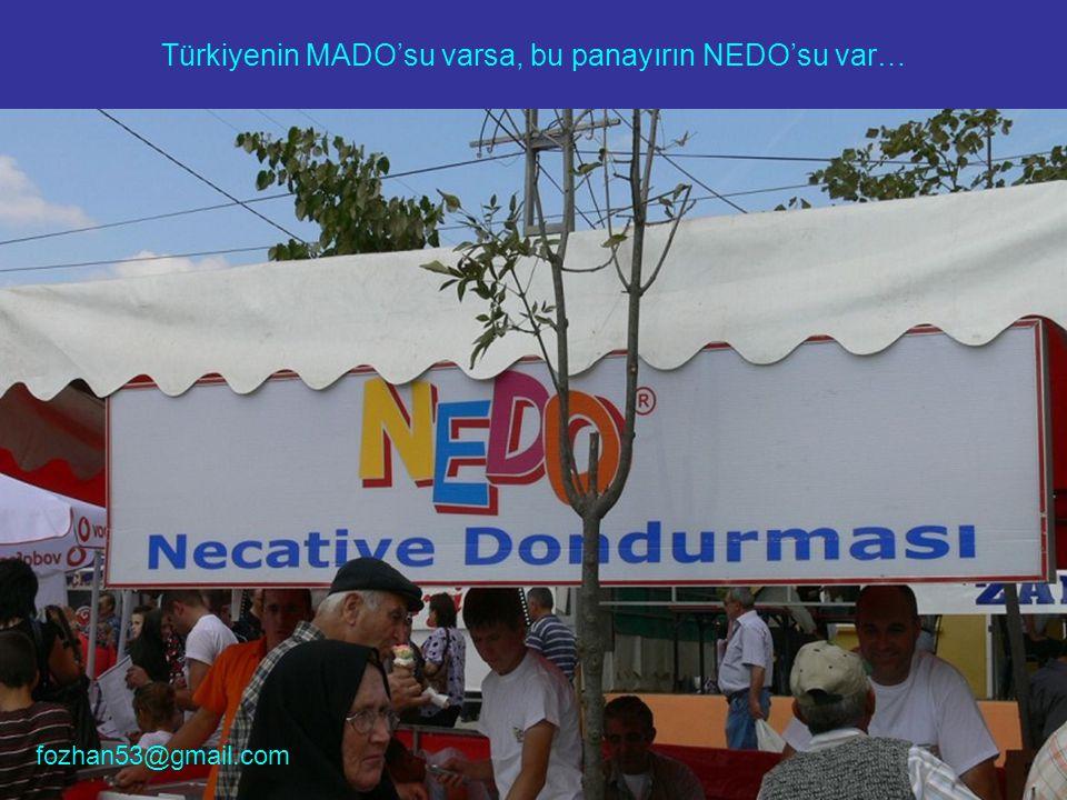 Türkiyenin MADO'su varsa, bu panayırın NEDO'su var…