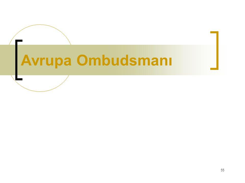 Avrupa Ombudsmanı