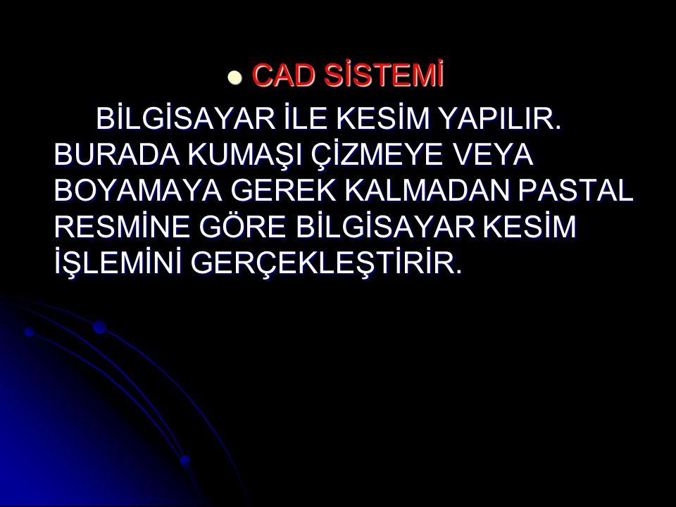 CAD SİSTEMİ