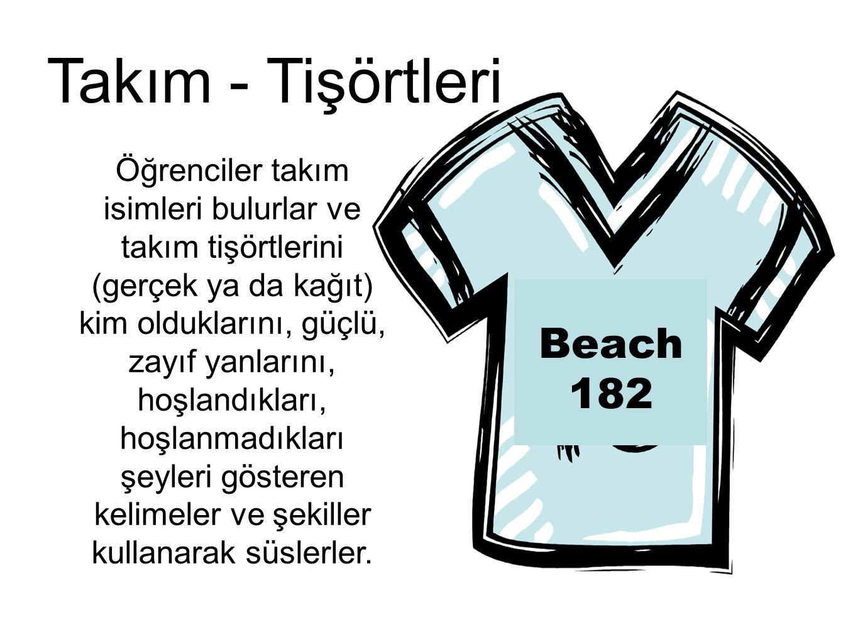 Takım - Tişörtleri Beach 182