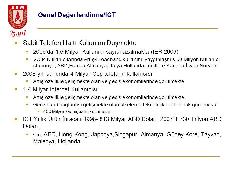 Genel Değerlendirme/ICT