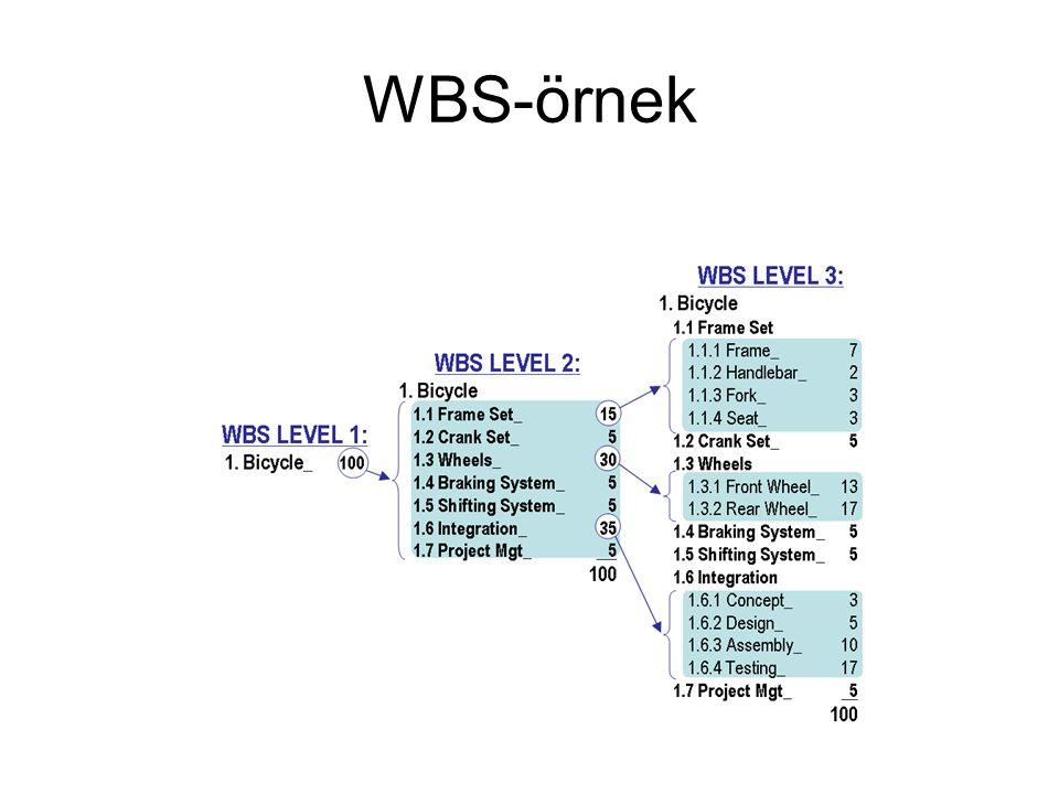 WBS-örnek