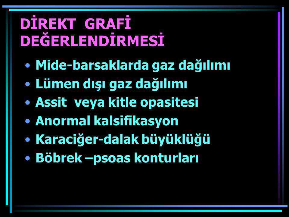 DİREKT GRAFİ DEĞERLENDİRMESİ