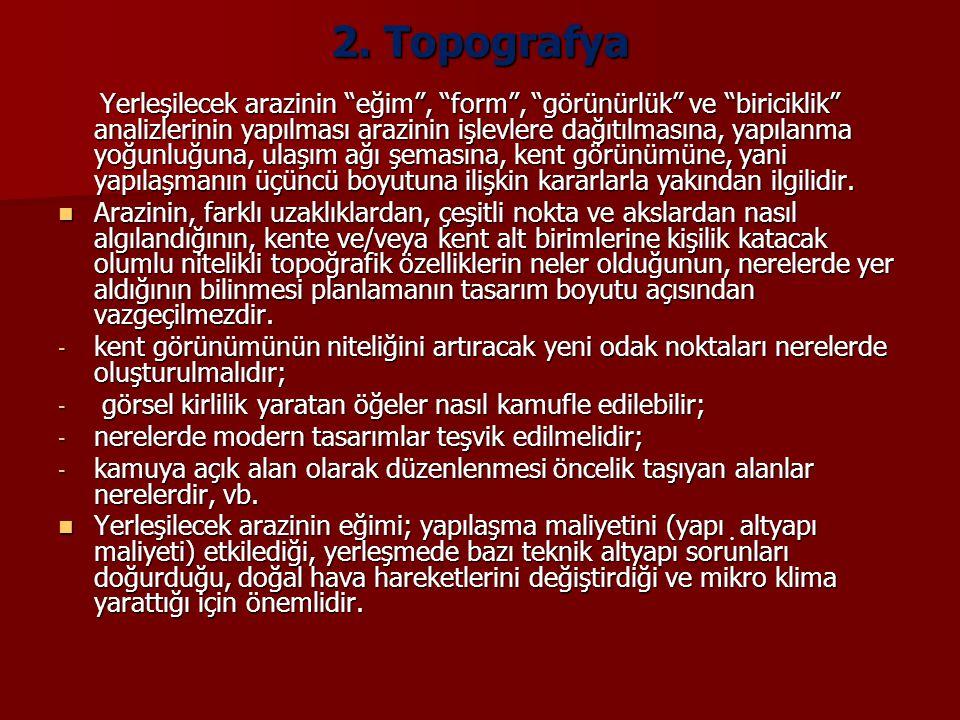 2. Topografya