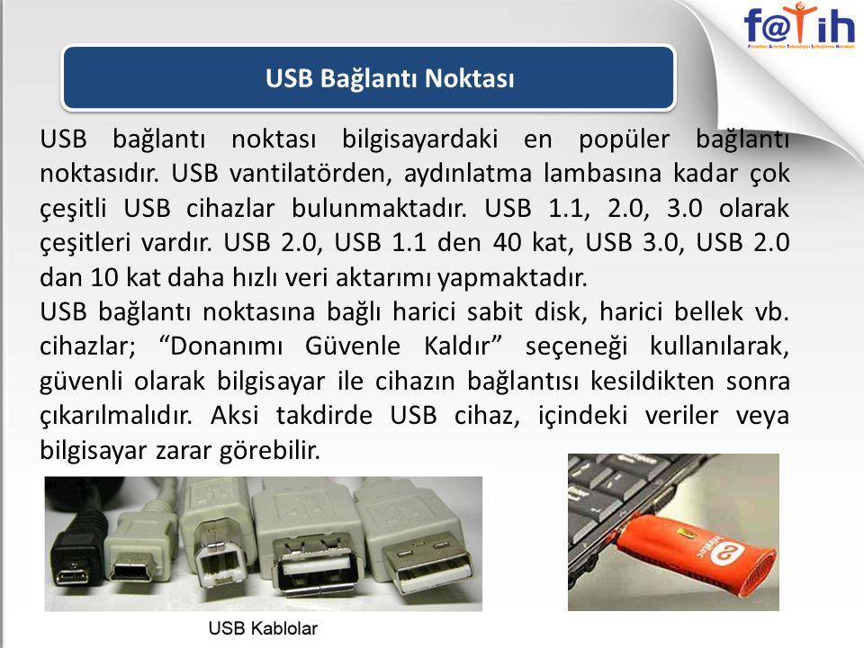 USB Bağlantı Noktası