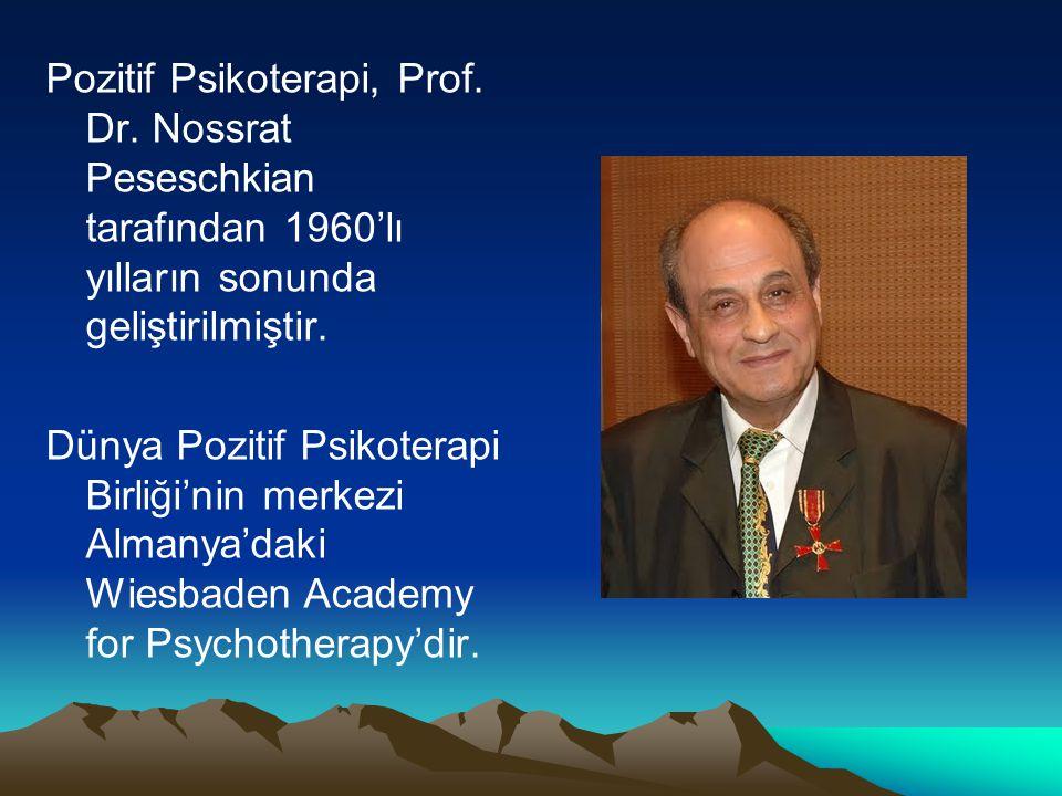 Pozitif Psikoterapi, Prof. Dr