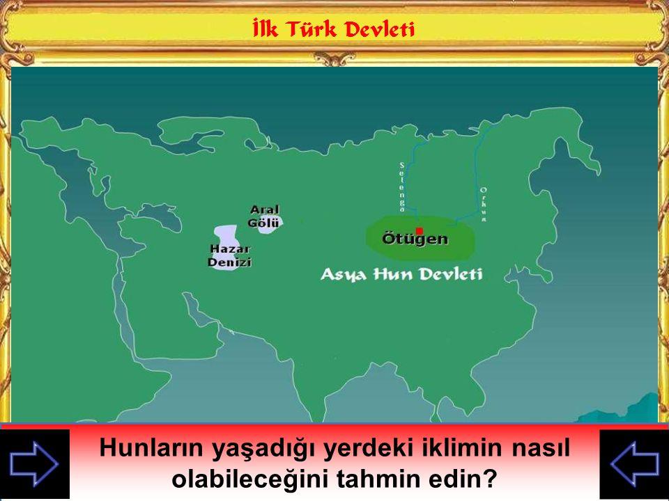 Orta Asya'da kurulan ilk Türk Devleti hangisiydi hatırlayamadım