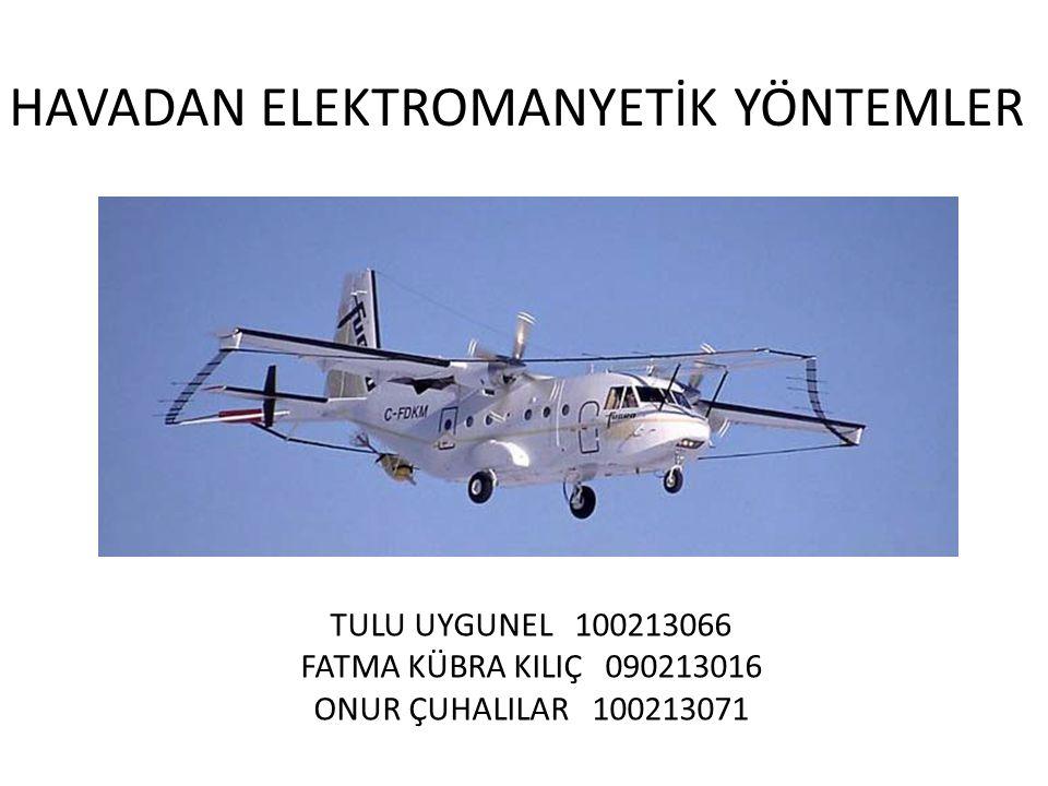 HAVADAN ELEKTROMANYETİK YÖNTEMLER