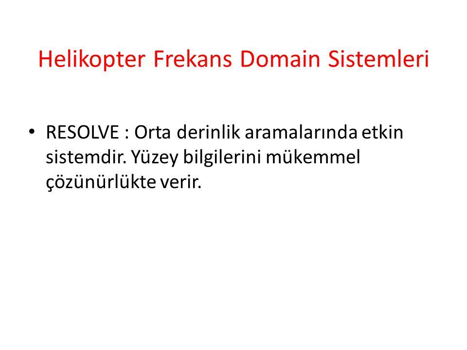 Helikopter Frekans Domain Sistemleri
