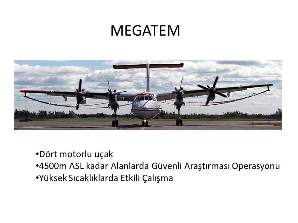 MEGATEM Dört motorlu uçak