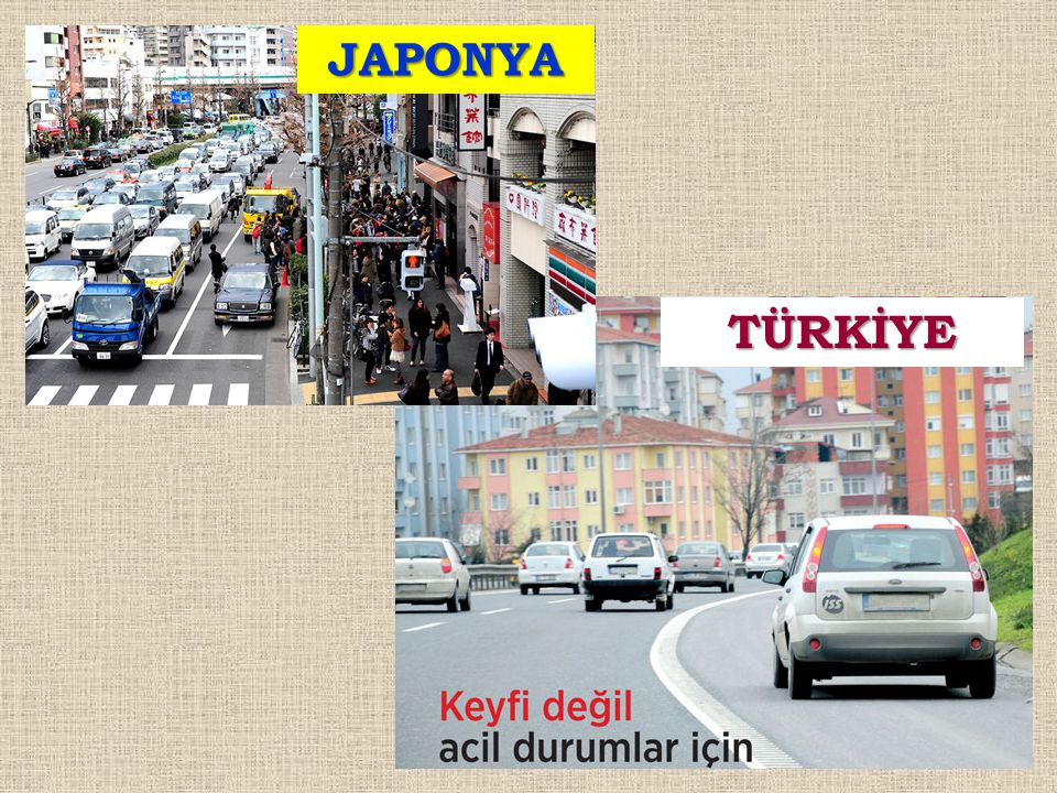 JAPONYA TÜRKİYE
