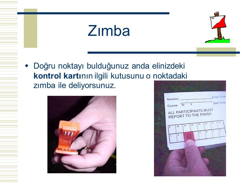 Zımba Doğru noktayı bulduğunuz anda elinizdeki kontrol kartının ilgili kutusunu o noktadaki zımba ile deliyorsunuz.