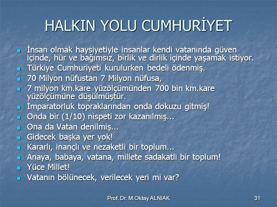 HALKIN YOLU CUMHURİYET