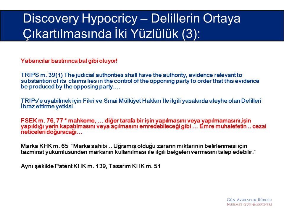 Discovery Hypocricy – Delillerin Ortaya Çıkartılmasında İki Yüzlülük (3):