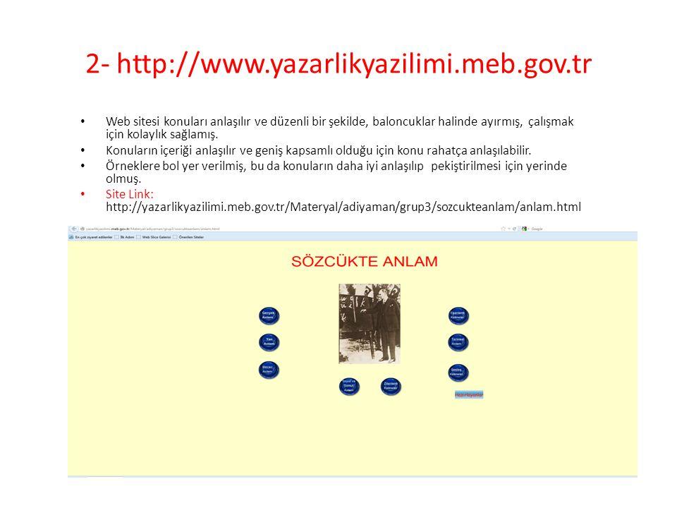 2- http://www.yazarlikyazilimi.meb.gov.tr